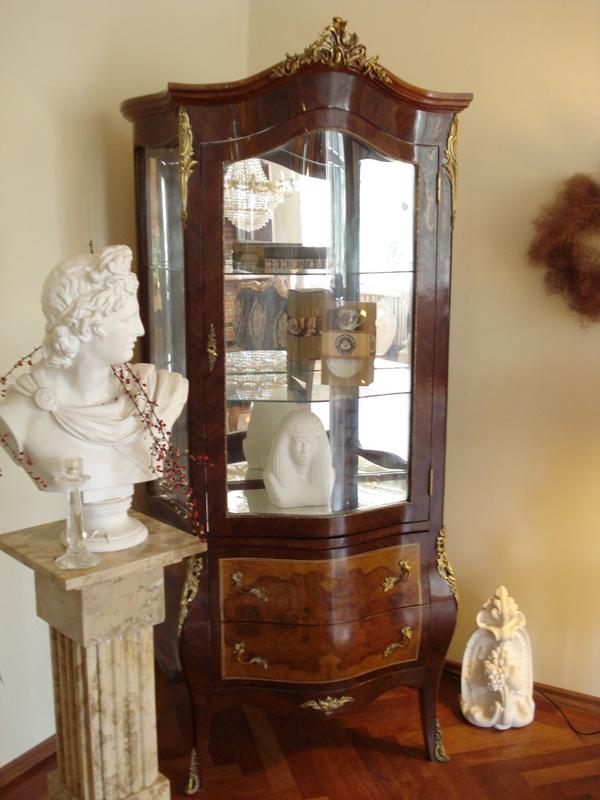 barock vitrinen