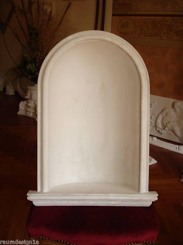 stucco wundersch ne elegante nische 121 703 aus stuck zum wandeinbau ebay. Black Bedroom Furniture Sets. Home Design Ideas